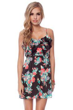 Around the Rosy Tank Dress - tobi.com