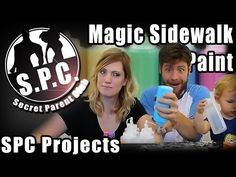 SPC Projects: Magic Sidewalk Paint - YouTube