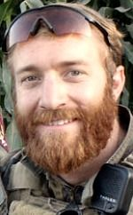 "Marine SSgt. Sky R. Mote, 27, of El Dorado, California. Died August 10, 2012, serving during Operation Enduring Freedom. Assigned to 1st Marine Special Operations Battalion, Camp Pendleton, California. Died when hit by small-arms fire from an Afghan police officer who was part of a unit he was training in a so-called Green-on-Blue attack in Helmand Province, Afghanistan. RECIPIENT OF NAVY CROSS FOR ""COURAGE IN THE FACE OF NEAR-CERTAIN DEATH""."