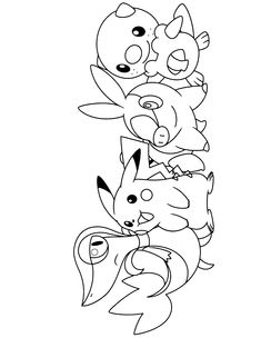 Pikachu Pokemon coloring pagesADULT COLORING BOOK PAGESMore Pins ...