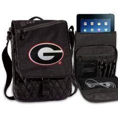 Georgia Bulldogs IPAD BAGS TABLET CASES University of Georgia College Logo Holders Tablets, E-readers Netbooks Ipads, Ipad 2, Kindle, Nook (Electronics)