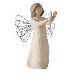 Amazon.com - Willow Tree Angel of Hope - Individual Nativity Figurines