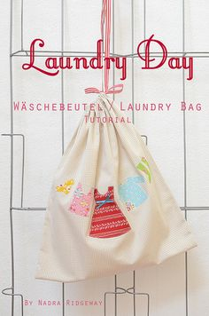 Wäschebeutel / Laundry Bag Tutorial « ellis & higgs