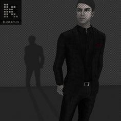 Kauna - XIV Suit: Black Check | Flickr - Photo Sharing!