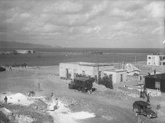 Weigt Ernst Ηράκλειο, λιμάνι, 1941 από τον Γερμανό στρατιώτη Crete Island, Heraklion, Old Maps, Vintage Photos, Greece, Past, Building, Outdoor, Painting