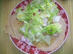 Crepes di Quinoa con insalatina | #secondipiatti #quinoa #light