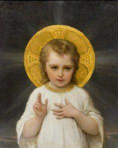 Divino Niño Jesus; Sellanos con tu divino amor.