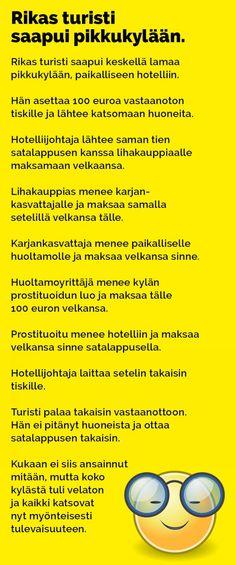 Vitsit: Rikas turisti saapui pikkukylään - Kohokohta.com