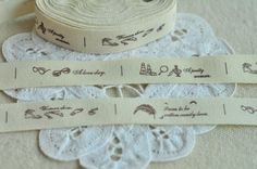 Cotton Tape 15mm5/8'' x 5 Yards Sewing Trim Sewing by BeadSources
