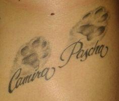Tattoo-Foto: Katzenpfoten