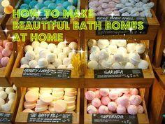 How to Make Amazing Homemade Bath Bombs