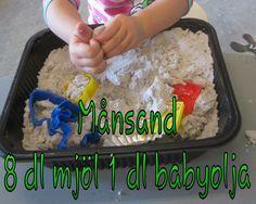 Kreativa barn: Månsand