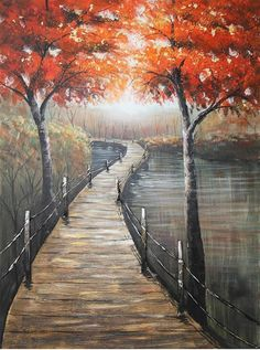 Let's Take a Stroll Take That, Let It Be, Belle Photo, Landscape Paintings, Original Art, Photos, Wall Art, Oil, Collection