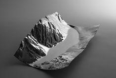 Centre de table Liconi Pierfrancesco Cravel pour Alessi / Design mobilier / Quand les montagnes inspirent les designers / Yooko