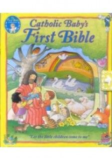 Good news for tiny tots. Now babies and toddlers can have their very own Bible. Catholic baby's First Bible is the perfect introduction to the Bible. Carefully selected stories, timeless verses, and delightful rhymes take your child on a journey from creation through the resurrection.