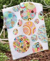 Circles for Paige by Marianne Haak is perfect for a special child and easy to customize in any color scheme!