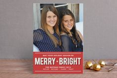 Merry and Bright by The Social Type at minted.com