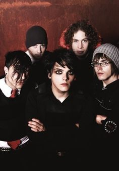 revenge, aka the era where gerard's eyeliner was applied with a paintbrush