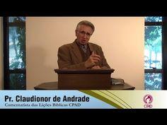 Isaque, o Sorriso de Uma Promessa - Pr. Claudionor de Andrade - EBDWeb