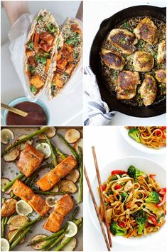 30 Weeknight Meals to Refresh Your Meal Plan -- Salmon, Chicken, Noodle Recipes and More!