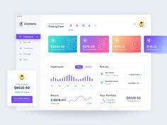 Crypto Dashboard Design by Masudur Rahman  on Dribbble Dashboard Interface, Web Dashboard, Dashboard Design, Interface Design, Mobile Application Design, Web Application, Web Design, Page Design, Graphic Design