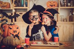 Safety tips for checking Halloween candy.