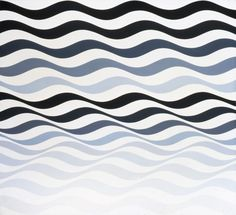 Bridget Riley Waves