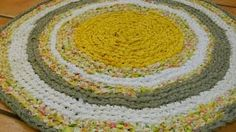 Erin Halvorsen - YouTube  Here is the playlist that has the videos on how to crochet a circle rag rug using sheet yarn.