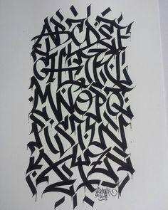 alphabet calligraffiti by skratch 2016