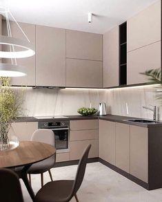 most popular home depot modern kitchen 57 Kitchen Room Design, Kitchen Cabinet Design, Modern Kitchen Design, Home Decor Kitchen, Interior Design Kitchen, Kitchen Furniture, Home Kitchens, Diy Kitchen, Kitchen Ideas