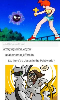 Jesus in Pokemon