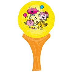 Pack of 10 Little Miss Sunshine Inflate A Fun Balloons Party Bag Fillers