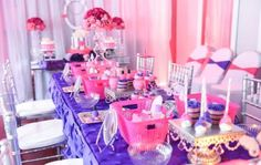 Spa party for a tween girl birthday | Catchmyparty.com