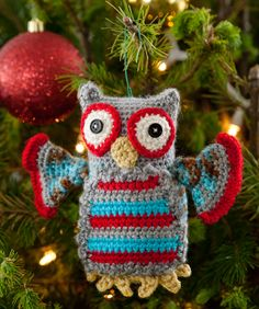 Hoot Owl Ornament