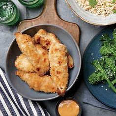 Coconut Chicken Strips and Basmati Rice | MyRecipes.com