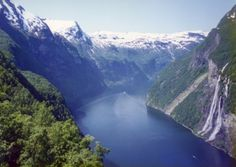 Geirangerfjorden in Geiranger