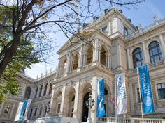 University of Vienna:  founded in 1365, second oldest university in the German-speaking world!