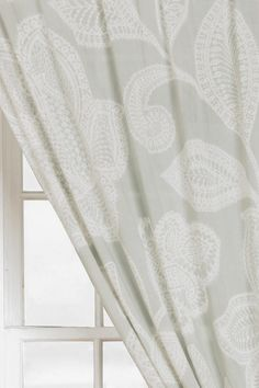 $30/panel. Patio door and/or fireplace windows. Plum & Bow Sugarplum Lace Curtain