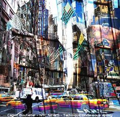 Art Plastique, Les Oeuvres, Times Square, Street View, Images, Travel, Basque Country, Radiation Exposure, Urban