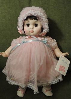"Vintage 20"" Mary Mine doll-precious!"