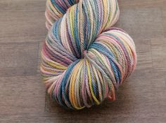 Hand Dyed Worsted Weight Yarn  Nostalgia  by AndreSueKnits on Etsy