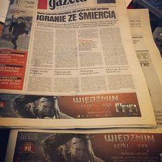 Wiedźmin 3 Dziki Goń w porannej prasówce #gazetawyborcza #wiedźmin3 https://cdp.pl/wiedzmin-3