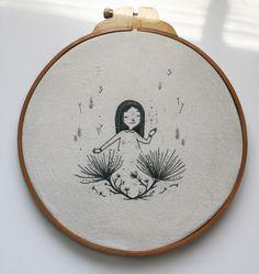 Victoria Assanelli una ilustradora enamorada del bordado
