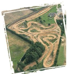 How to build your own motor cross track you say ? yip, ill have one - xlarge with fries thanks.