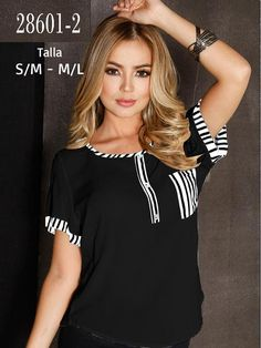 Blusa Colombiana - Ref. 266 -28601-2 Negro Revamp Clothes, Sewing Blouses, Online Shopping Sites, T Shirts For Women, Boho, Denim, Chic, Jeans, Casual