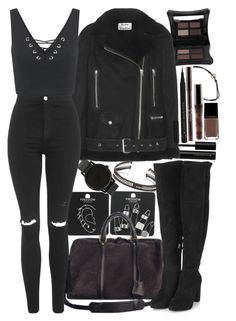 Designer Clothes, Shoes & Bags for Women Teen Fashion Outfits, Edgy Outfits, Cute Casual Outfits, Cute Fashion, Teenager Outfits, College Outfits, Polyvore Outfits, Polyvore Fashion, Looks Black
