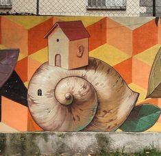 Mural by Alegria del Prado, Mexico