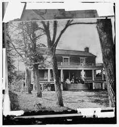 Appomattox Court House, Virginia. McLean house