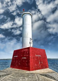 Petoskey Lighthouse- Petoskey, MI  #PetoskeyArea Find out more about the Petoskey Area at http://www.PetoskeyArea.com