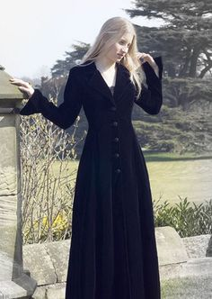 408XXS - Ladies Fitted Coat - Gothic, romantic, steampunk clothing from The Dark Angel